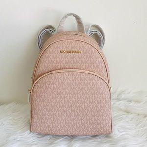 MICHAEL KORS Abbey Ballet Backpack (PINK)